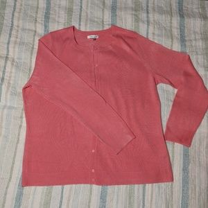 Pink Cardigan XL